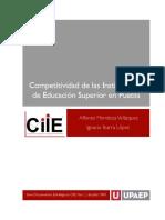 Competitividad de Las Instituciones de Educacion Superior