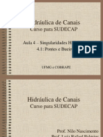 4-SUDECAP-Singularidades-Pontes-e-Bueiros.pptx