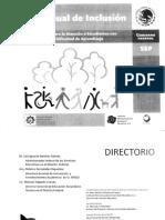 Mi Manual de Inclusion Educativa