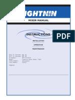 manual reductor lightnin