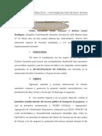 MEDIDA AUTOSATISFACTIVA TRANSPORTE Paraná