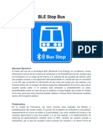 BLE Stop Bus Pitch