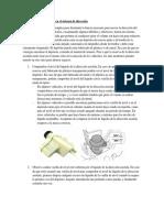 Nivel de Aceite Hidráulico en El Sistema de Dirección