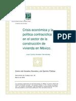 Crisis Economica Construccion Vivienda