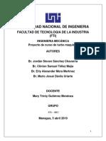 Informe De Proyecto turbomaquinas
