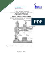 Manual de ajuste metalico