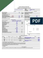 Tabla Excel Tanque de Diluente