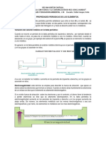 Algunas Propiedades Periodicas de Los Elementos.