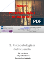 2. Psicopatología y Delincuencia