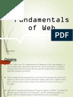 Fundamentals of Web