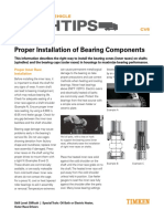 10461_CV6 Proper Installation of Bearing Components