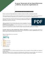 la inflacion en sudamerica