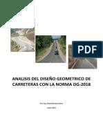 Analisis y Diseño Geométrico Carreteras-DG-2018