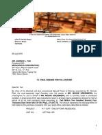 Greenberg-Megaworld Demand Letter