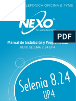 Manual Inst Selenia 8.24 V2.3