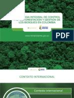 Estrategia Deforestacion MInistro Murillo