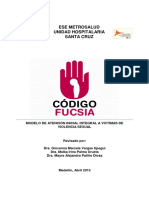 Modelo Atencion Codigo Fucsia