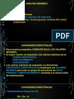 TEMA N° 9.0.- ANALISIS DINAMICO MODAL ESPECTRAL.