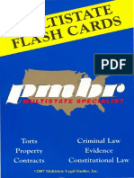 PMBR Flash Cards - Criminal Procedure - 2007