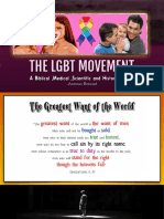 1.The LGBT Movement- Homosexuality Impact on Sex and Culture