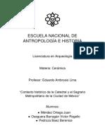 Contexto histórico de la Catedral y el Sagrario Metropolitano de la Ciudad de México