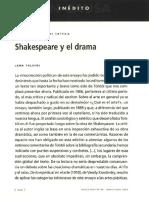 Tolstoi y Shakespeare