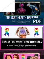 8. The LGBT Movement Health Issues - The Dangers of Anal Sex