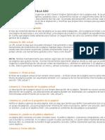 Plantilla SEO on-Page G4MarketingOnline