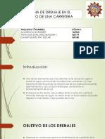 Sistema de Drenaje en El Diseño de Una