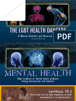 10. The LGBT Movement Health Issues- Higher Incidents of Mental Health Problems ,Drug Abuse and Marijuana Usage