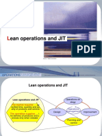 Operations Ch 4 - Lean & JIT