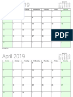 March 2019 - February 2020