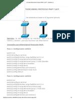 Comandos Etherchannel Protocolo PAGP y LACP. _ Subneteros