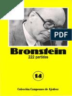 Bronstein 222 partidas - Dirección Antonio Gude - Euseve