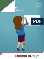 Cartilla de Salud Docente Artritis