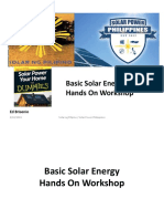 Solar Power Philippines Hands On Workshop 2015-05-09 .pptx