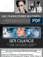 21. SEX CHANGE - Physically Impossible, Psychosocially Unhelpful, And Philosophically Misguided