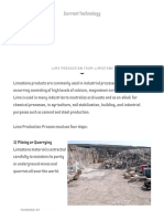 Lime Production From Limestone - Current Technology
