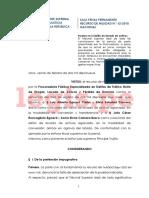 R.N.-62-2018-Lavado de Activos Copias Simples de Boletas y Recibos «No Generan Certeza Sobre Su Fiabilidad-JURISPRUDENCIA