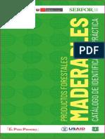 Catalogo de Identificación Practica de Productos Forestales Maderables