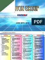 Doowon Group Introduction(JUNE 2015)