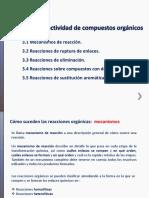 Unidad III_ Reactividad de Compuestos Organicos