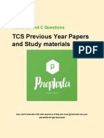 TCS Technical Pro Paid Paper-2