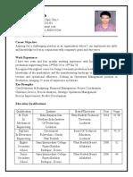 Aditya Kumar Singh_Resume