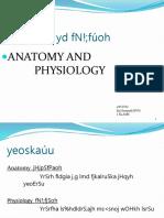 Anatomy sinhala ppt