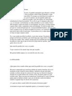 Carta Abierta a Klaus Eichmann. La Doble Pérdida