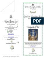 2019-6 Aug -Matlit Hymns- Transfiguration