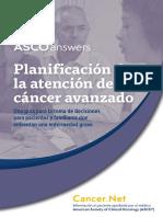 Advanced Cancer Care Planning Esp