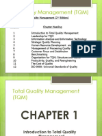 TQM Chapter-1 Introduction
