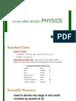 2018 NMAT Physics Lecture Presentation
